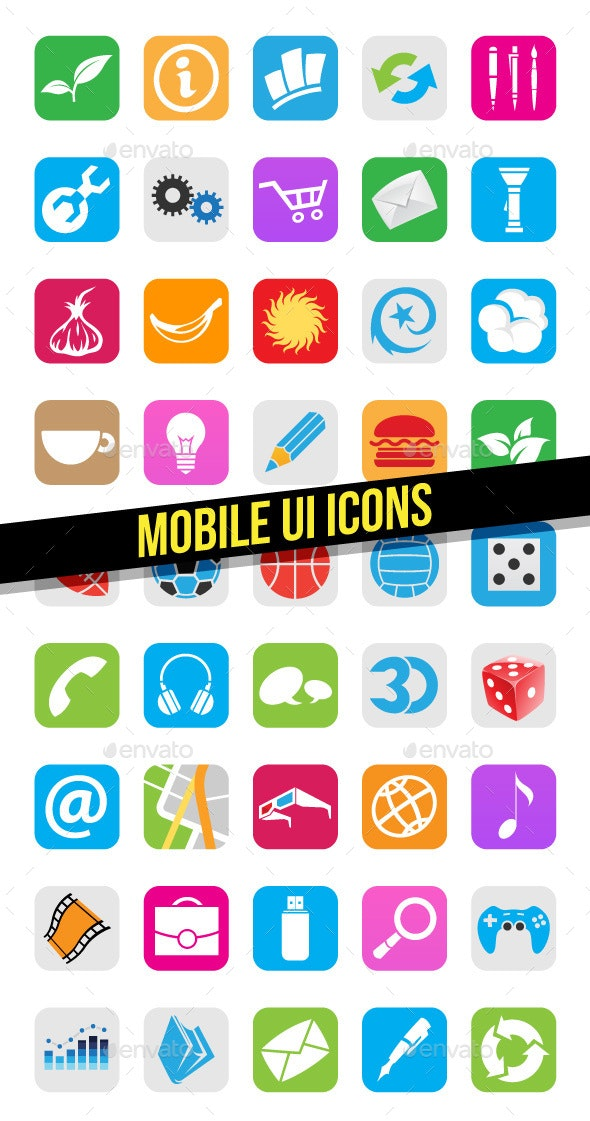 Mobile App Icons - Icons