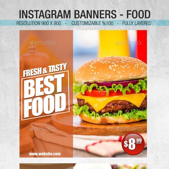 Instagram Food Banner