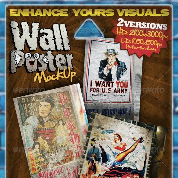 Visual Mockup: Wall Poster
