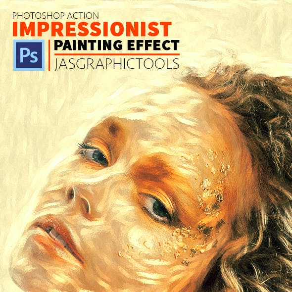 Impressionist Painting Effect | Photoshop Action