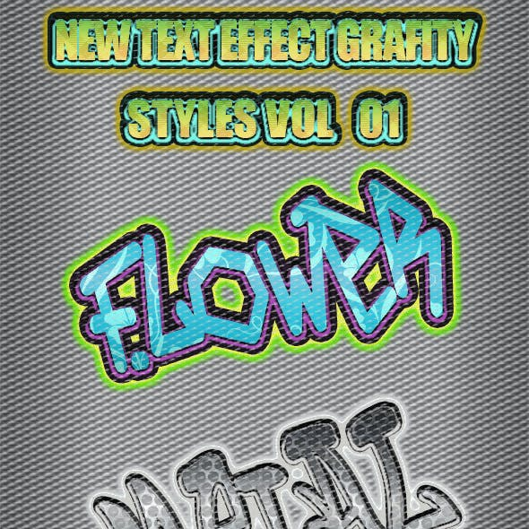 New Text Effect Grafity Styles Vol 1