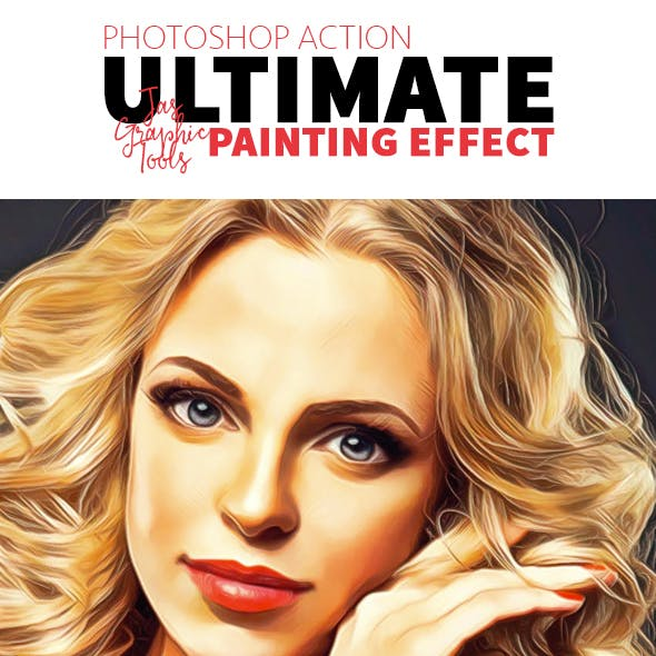 Ultimate Painting Effect | Photoshop Action