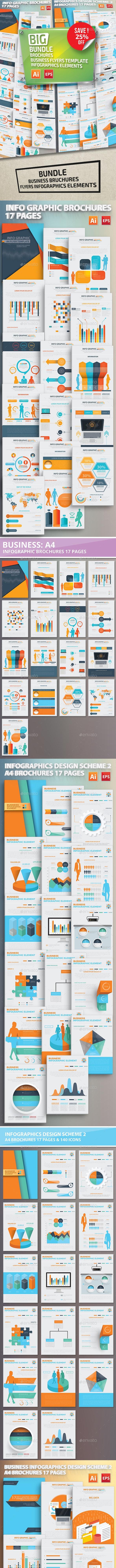 Big Bundle Infographics Elements Design - Infographics