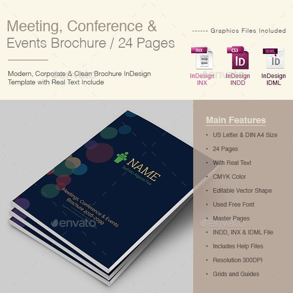 Meetings Conference & Events Brochure