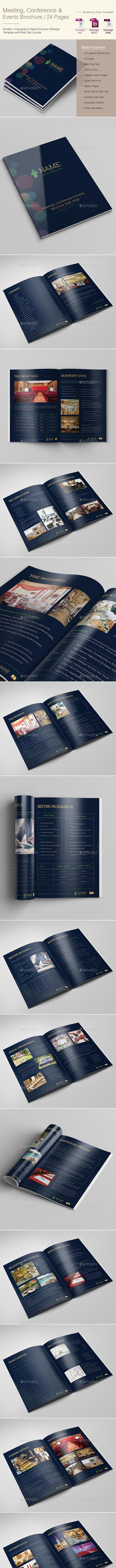 Meetings Conference & Events Brochure - Corporate Brochures