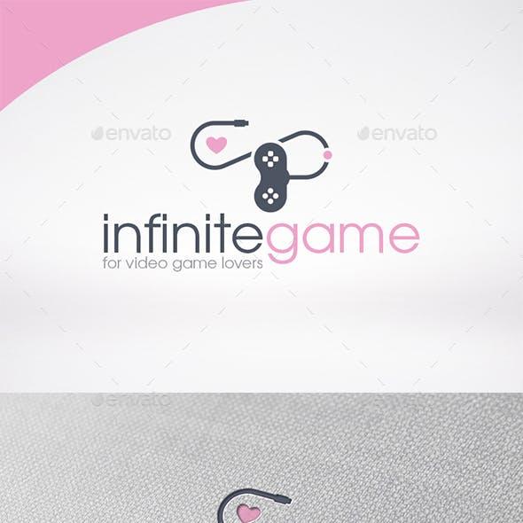 Infinite Game Love Logo Template