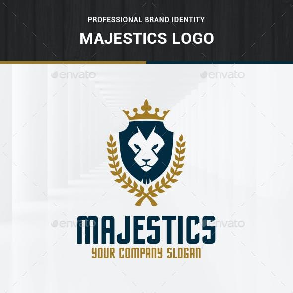 Majestics - Lion Crest Logo