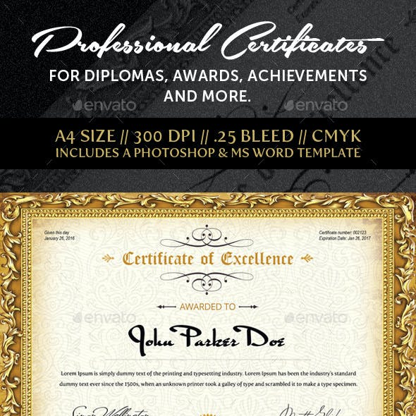 Multipurpose Professional Certificate