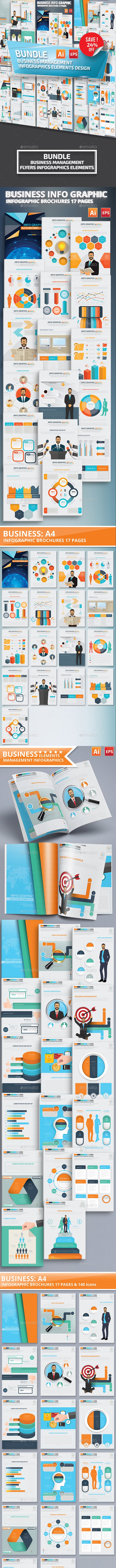 Bundle Business Management Infographics Design - Infographics