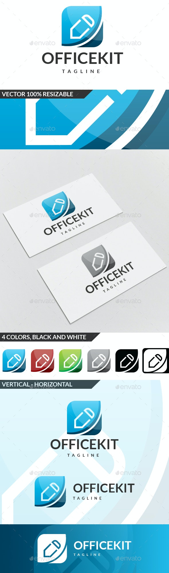 Office Kit Logo - Symbols Logo Templates