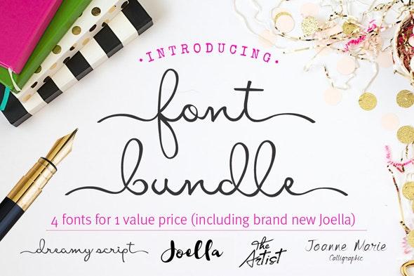 Font Bundle - script font - brush font - calligraphy fonts - Calligraphy Script