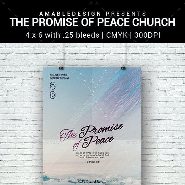 The Promise of Peace Church Flyer