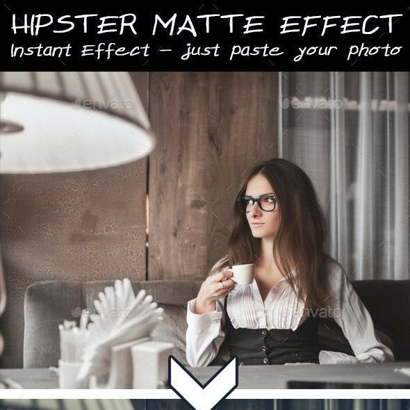 Hipster Matte Effect