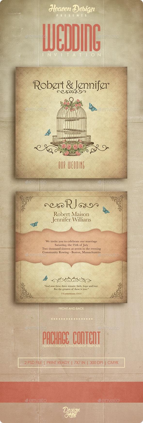Wedding | Invitation  - Weddings Cards & Invites