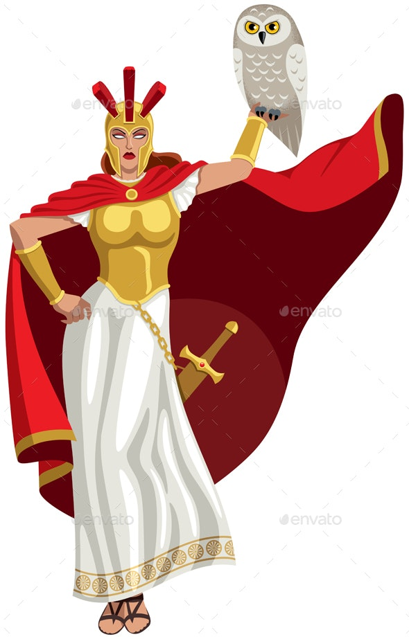 Athena on White - Miscellaneous Characters