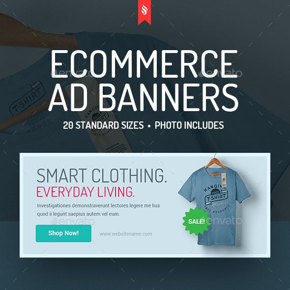 Clothes Shop - eCommerce Ad Banners