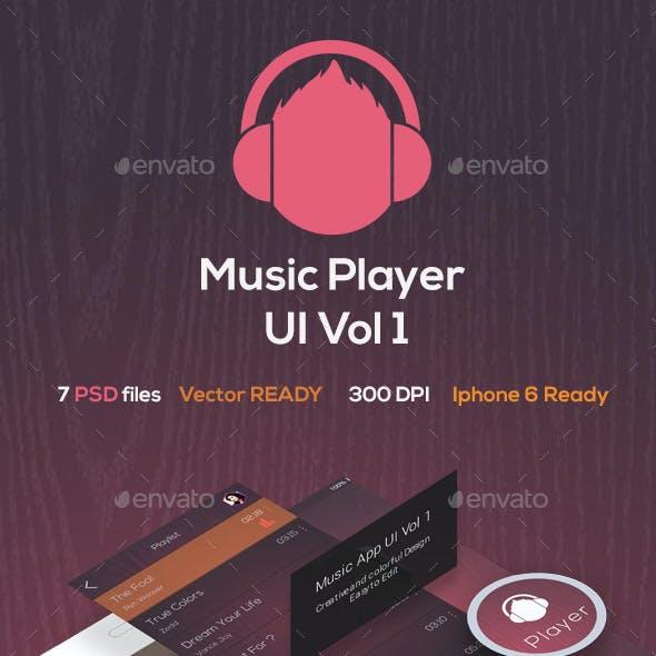 iOs Music App Vol 1