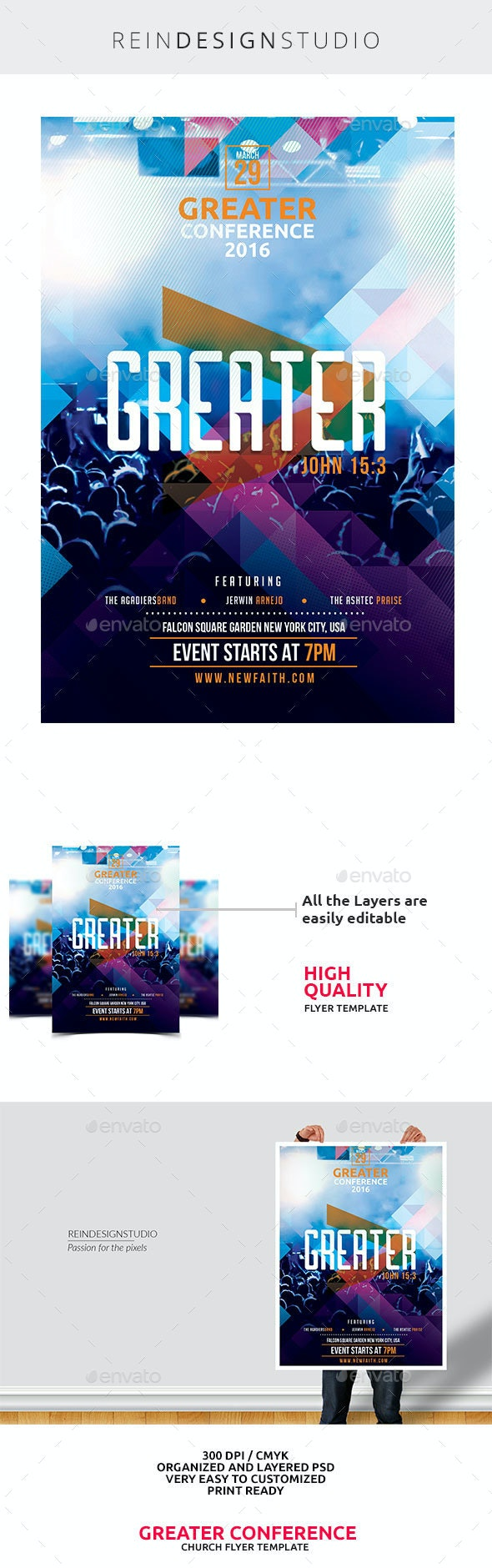 Greater Worship Conference 2016 - Church Flyers