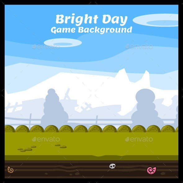 Bright Day Game Background