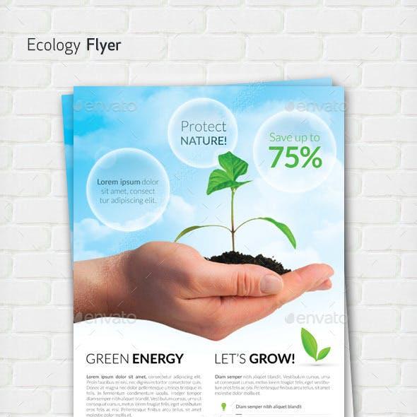 Ecology / Green Energy flyer