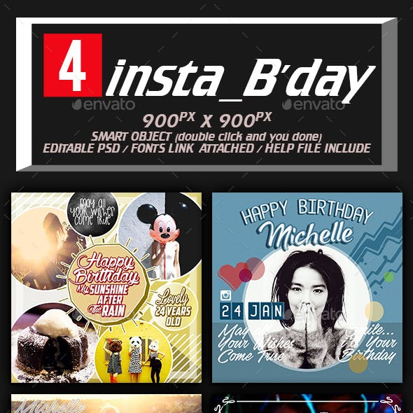Insta Birthday