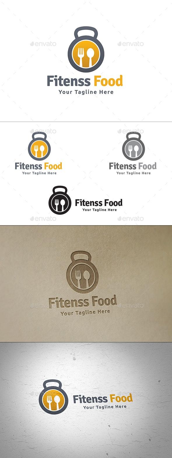 Fitness Food - Food Logo Templates