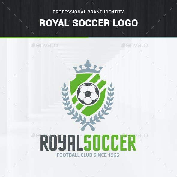 Royal Soccer Logo Template
