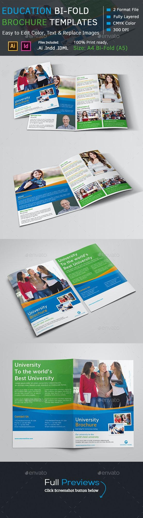 Education Brochure Template - Corporate Brochures