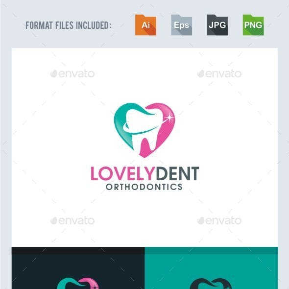 Lovely Dental Logo Template