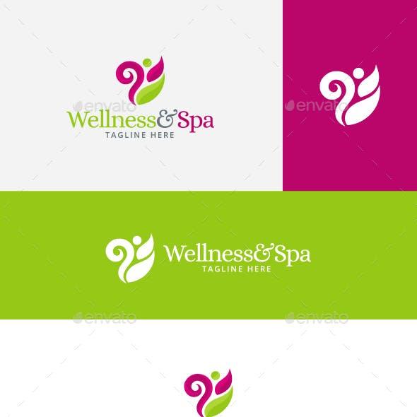 Wellness and Spa Logo