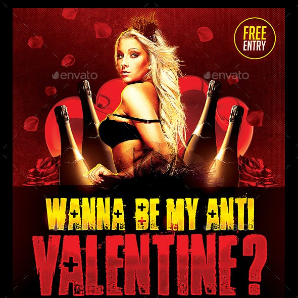 Anti Valentines Day Flyer