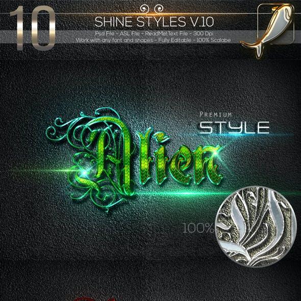 10 Shine Styles V.10WJ