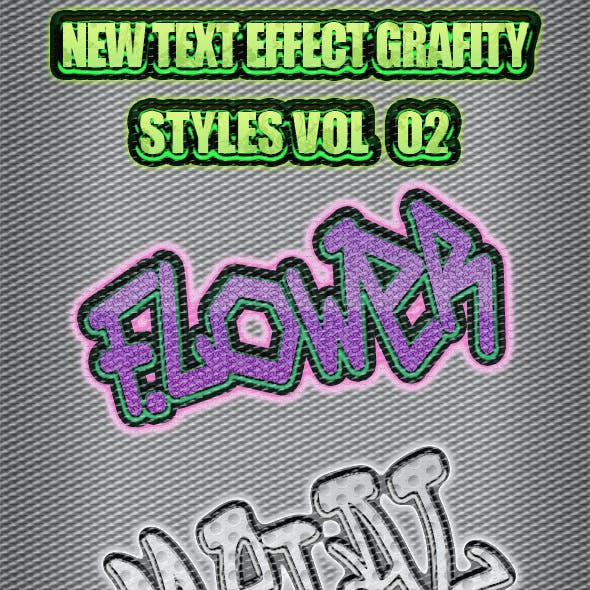 New Text Effect Grafity Styles Vol 2