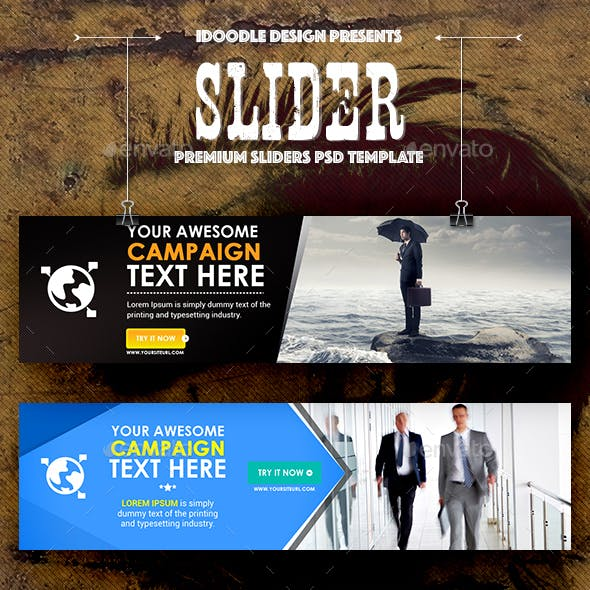 Multipurpose Sliders - 42 PSD