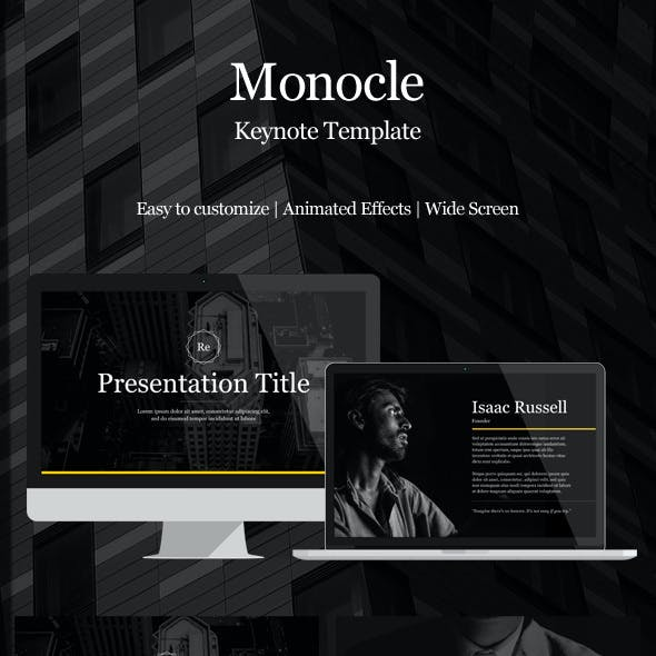 Monocle Powerpoint Presentation Template