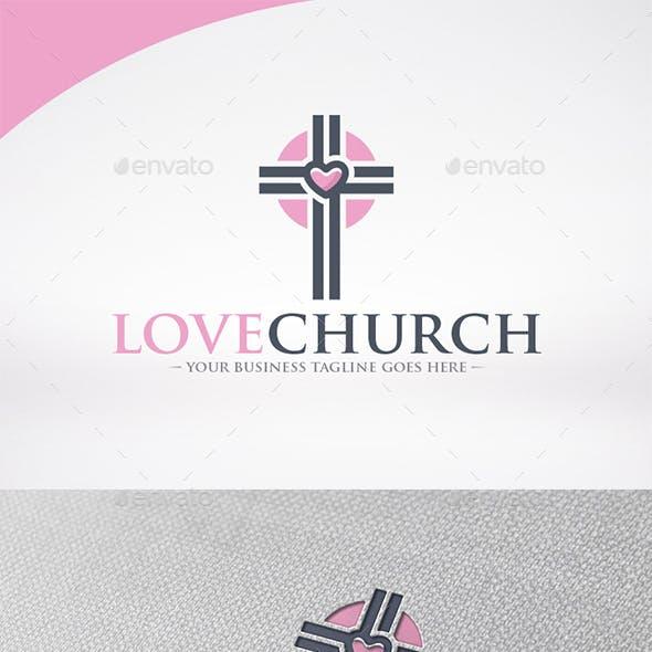 Love Church Logo Template