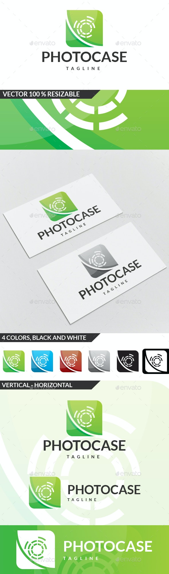 Photo Case Logo - Symbols Logo Templates