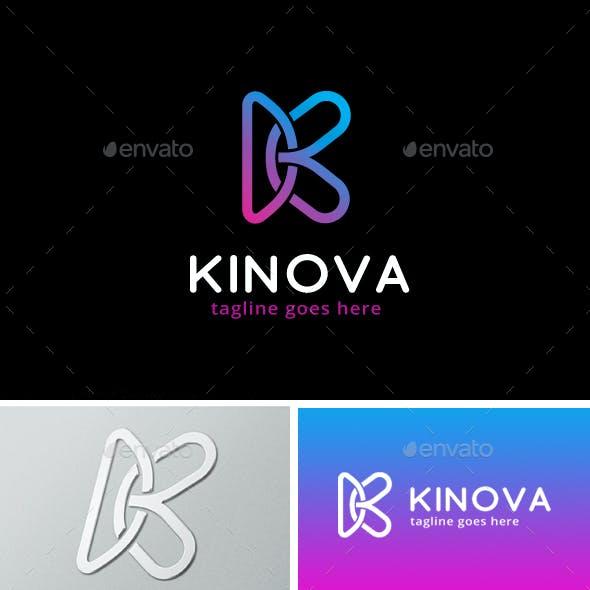 Kinova Letter K Logo