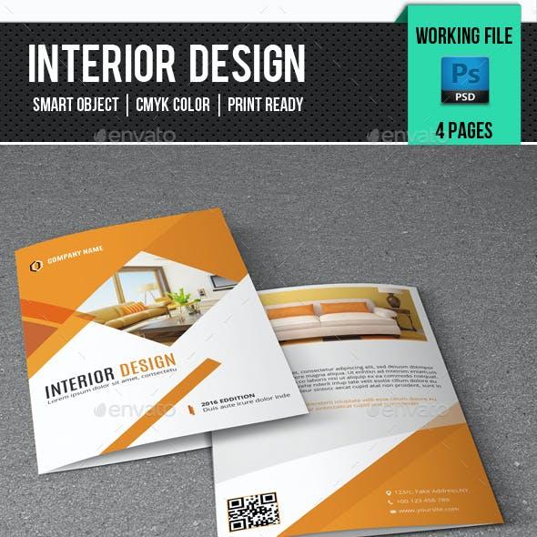 Interior Design Brochure-V340