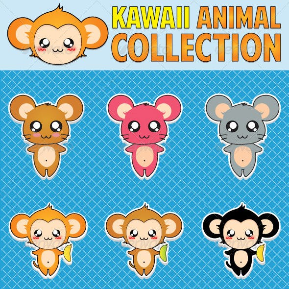Kawaii Animal Collection