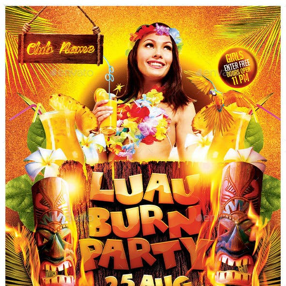 Luau Burn Party