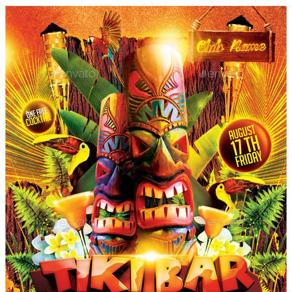 Tiki Bar Party