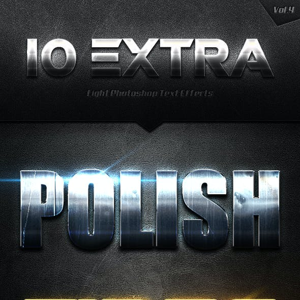 10 Extra Light Text Effects Vol.4