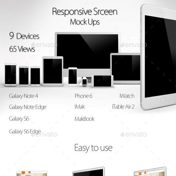 Smart Screen Devices  Mock Up Pack