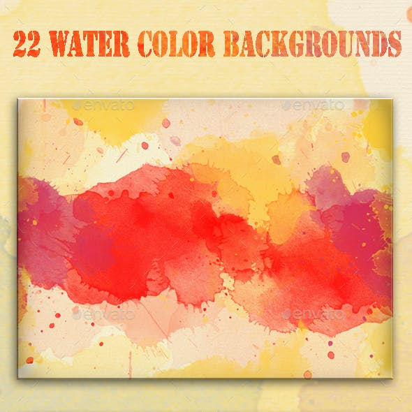 22 Water Color Background