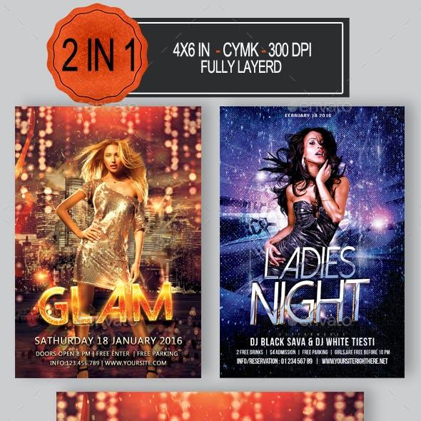 2 in 1 Party Flyer Bundle