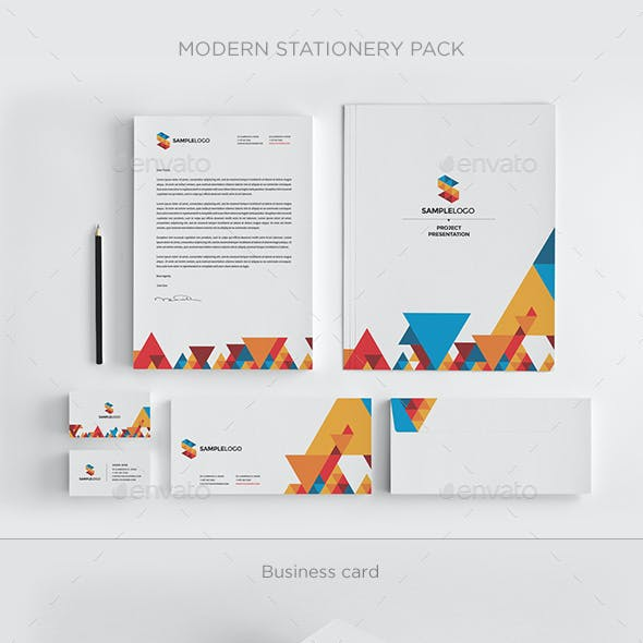 Modern Stationary Pack
