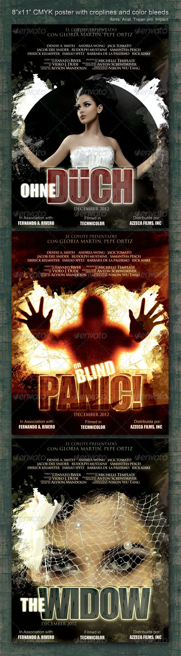 "8.5""x11"" Poster ""Panic"" - Clubs & Parties Events"