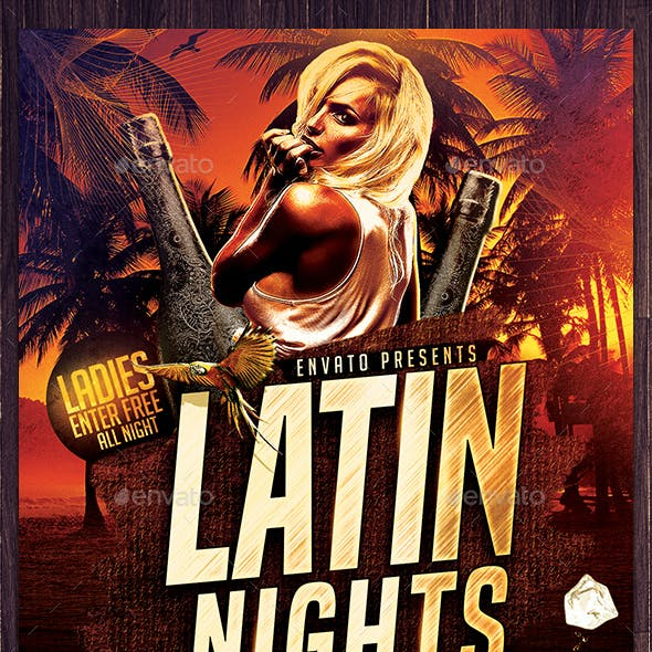 Latin Nights Flyer