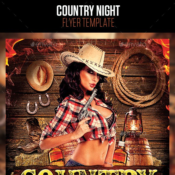 Country Night Flyer